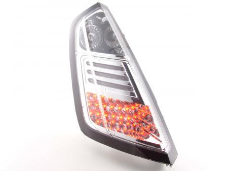 LED Rückleuchten Heckleuchten Set Fiat Grande Punto Typ 199 05- chrom