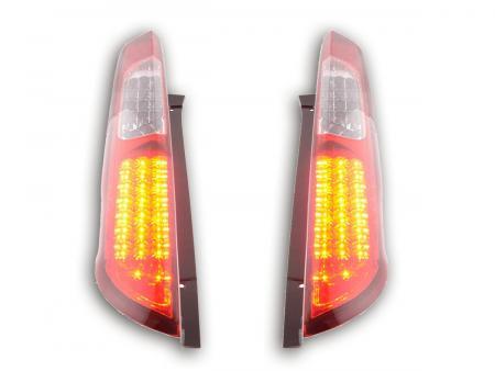 LED Rückleuchten Heckleuchten Set Ford Focus 2 5-türig  04-08 rot/klar