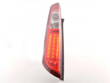 LED Rückleuchten Heckleuchten Set Ford Focus 2 5-türig  08-10 rot/klar