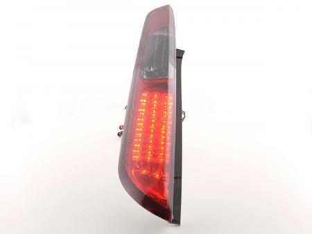 LED Rückleuchten Set Ford Focus 2 5-türig  08-10 rot/schwarz
