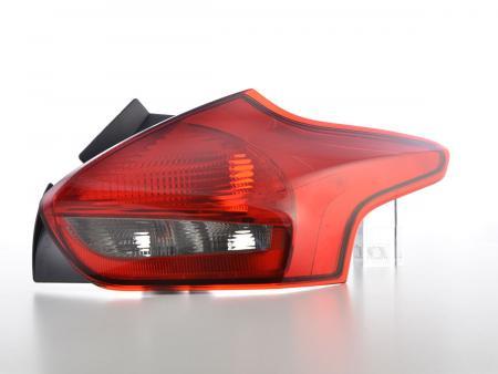 LED Rückleuchten Heckleuchten Set Ford Focus 5-Türer  ab 2014 smoke