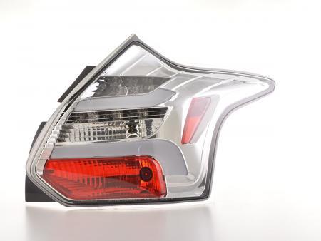 LED Rückleuchten Set Lightbar Ford Focus 3 Bj. 10-14 chrom