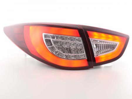 LED Lightbar Rückleuchten Set Hyundai ix35 Bj. 2009-2015 rot/klar