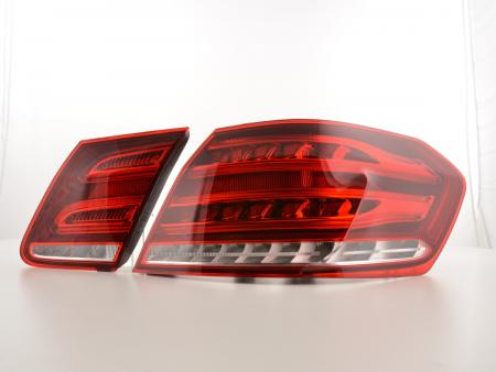Led Taillights Mercedes Benz E-class saloon W212 Yr. from 2013 red/clear