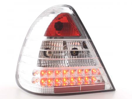 LED Rückleuchten Set Mercedes C-Klasse Typ W202 Bj. 96-00 chrom