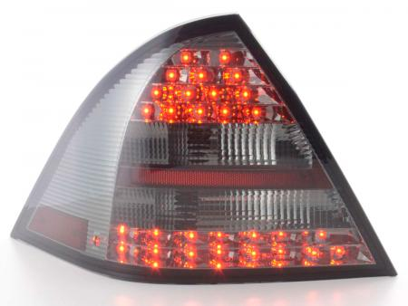 LED Rückleuchten Set Mercedes C-Klasse W203 Limo Bj. 01-04 smoke