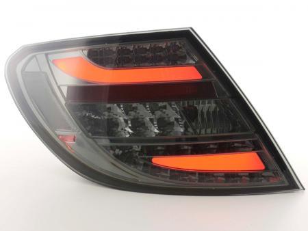 LED Lightbar Rückleuchten Set Mercedes C-Klasse Typ W204 Bj. 07-11 smoke