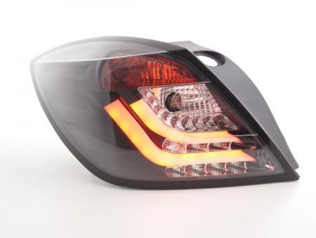 LED Lightbar Rückleuchten Set Opel Astra H GTC Bj. 04-08 schwarz