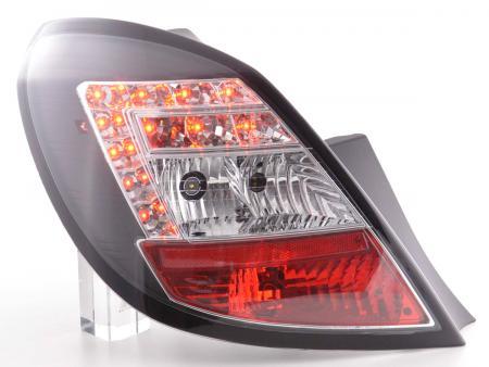 LED Rückleuchten Set Opel Corsa D 5-türig Bj. 06-10 schwarz