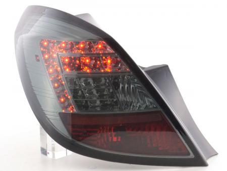 LED Rückleuchten Set Opel Corsa D 5-türig Bj. 06-10 smoke mit LED Blinker