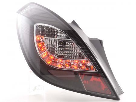 LED Rückleuchten Set Opel Corsa D 3-türig Bj. 06-10 schwarz