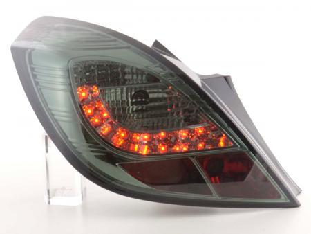 LED Rückleuchten Set Opel Corsa D 3-türig Bj. 06-10 smoke
