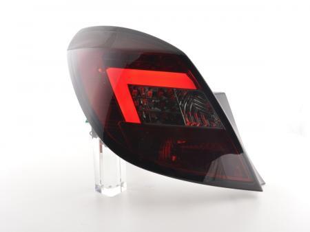 tuning shop led r ckleuchten opel corsa d 5 trg bj 06 10 rot schwarz online kaufen. Black Bedroom Furniture Sets. Home Design Ideas