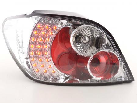 LED Rückleuchten Heckleuchten Set Peugeot 307 2001 - 2004 chrom