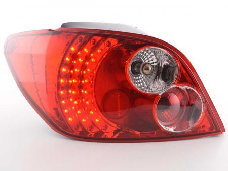 LED Rückleuchten Heckleuchten Set Peugeot 307 Schrägheck  2001 - 2004 klar/rot