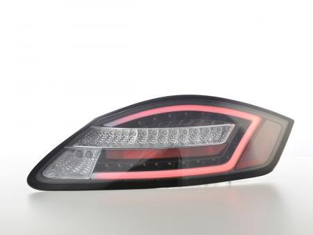 LED Rückleuchten Set Porsche Boxster 987 04-09 schwarz Dynamischer Blinker