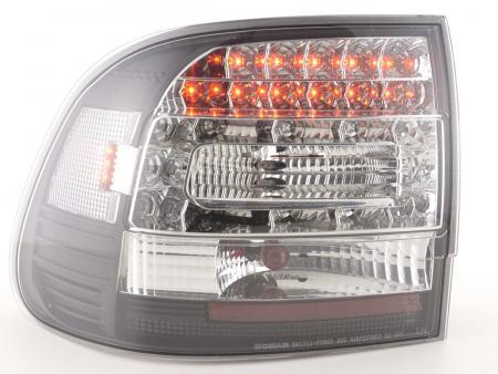 LED Rückleuchten Set Porsche Cayenne Typ 955 Bj. 02-06 schwarz