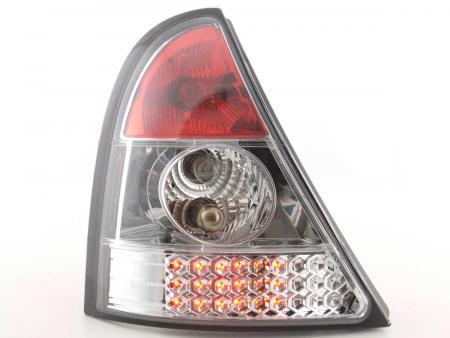 LED Rückleuchten Heckleuchten Set Renault Clio B 1998 - 2001 chrom