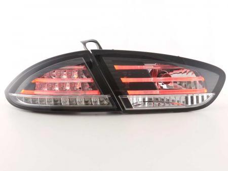 LED Rückleuchten Set Seat Leon Typ 1P Bj. 09-12 schwarz
