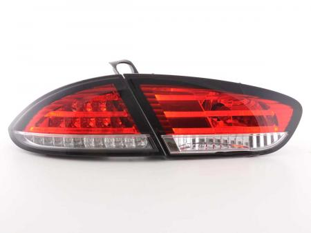 LED Rückleuchten Set Seat Leon Typ 1P Bj. 09-12 rot/klar