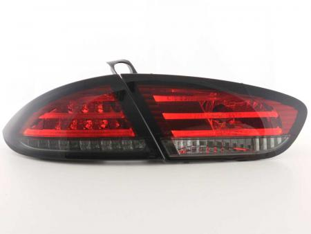 LED Rückleuchten Set Seat Leon Typ 1P Bj. 09-12 rot/schwarz