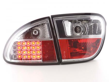 LED Rückleuchten Heckleuchten Set Seat Leon 1M 1999 - 2005 chrom