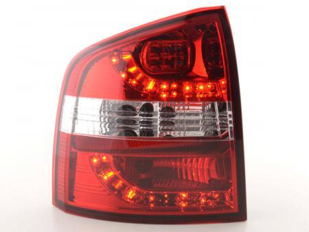 LED Rückleuchten Set Skoda Octavia Combi Typ 1Z Bj. 05-12 rot/klar