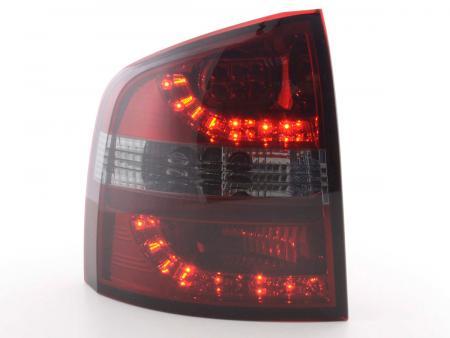 LED Rückleuchten Set Skoda Octavia Combi Typ 1Z Bj. 05-12 rot/smoke