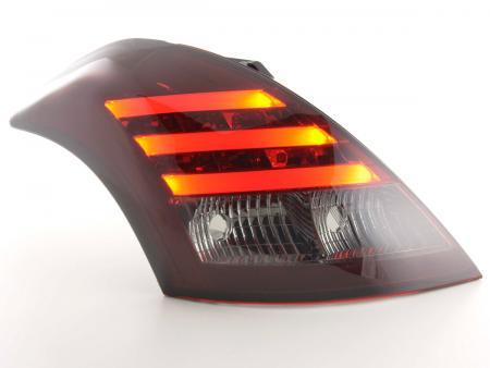 LED Lightbar Rückleuchten Set Suzuki Swift Bj. 2011- rot/schwarz