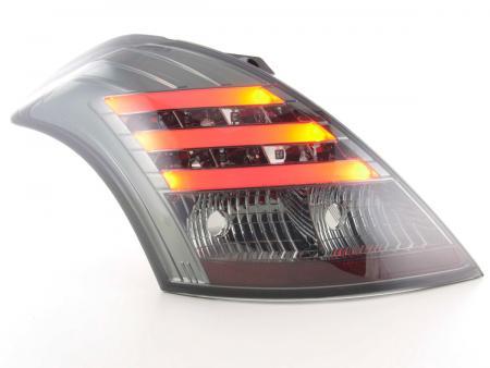 LED Lightbar Rückleuchten Set Suzuki Swift Bj. 2011- schwarz