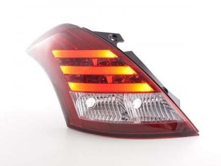LED Lightbar Rückleuchten Set Suzuki Swift Sport Bj. 2011-2013 rot/klar