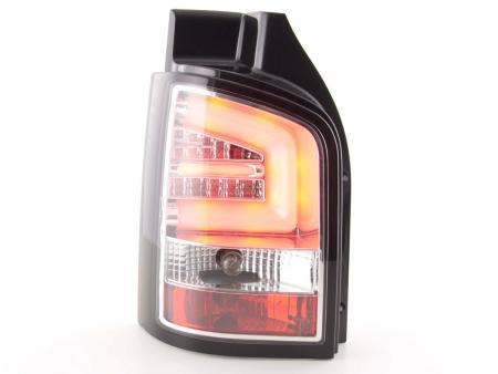 LED Lightbar Rückleuchten Set VW T5 Bj. 2010 - 2015 chrom