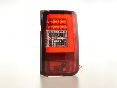 LED Lightbar Rückleuchten Set  VW Caddy 2K Bj. 03-15 rot/klar