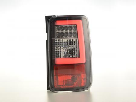 LED feux arrières Lightbar VW Caddy 2K année 03-15 noir