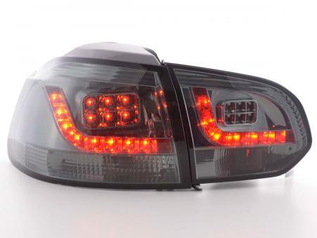 LED Rückleuchten Heckleuchten Set VW Golf 6 1K Bj. 2008 - 2012 smoke