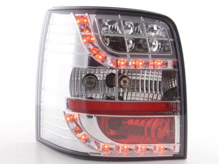 LED Rückleuchten Heckleuchten Set VW Passat 3B Variant  97-00 chrom