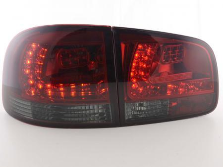 LED Rückleuchten Set VW Touareg Typ 7L Bj. 03-10 rot/smoke