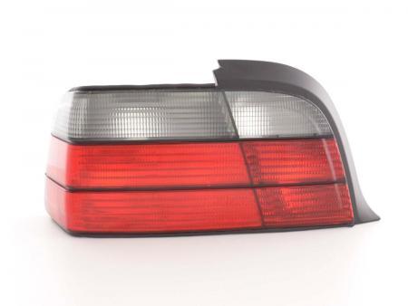 Rückleuchten Set BMW 3er E36 Coupe, Bj.91-98  rot/schwarz