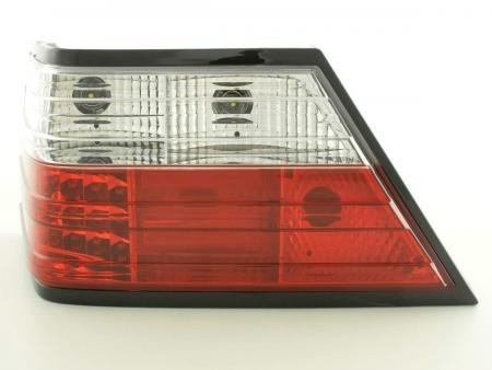 Led Taillights Mercedes E-Class saloon W124 Yr. 85-96 clear/red