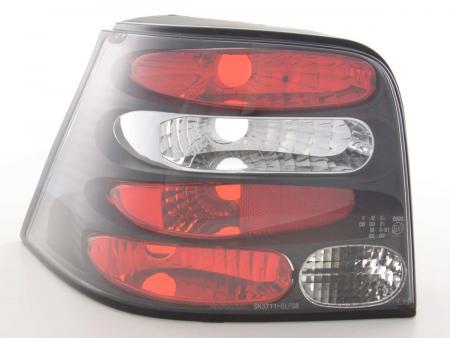Rückleuchten Heckleuchten Set VW Golf 4 Typ 1J  98-02 schwarz