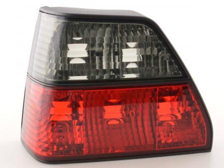 RückleuchtenHeckleuchten Set  VW Golf 2 Typ 19E  84-91 schwarz rot