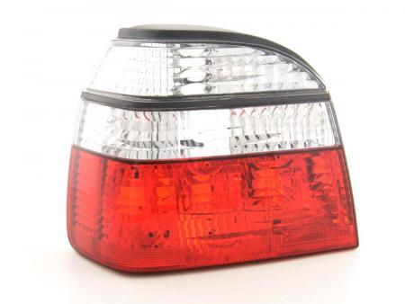 Rückleuchten Heckleuchten Set VW Golf 3 Typ 1HXO  92-97 rot weiß