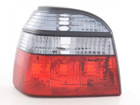 Rückleuchten Heckleuchten Set VW Golf 3 Typ 1HXO  92-97 schwarz rot