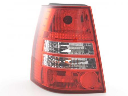 Rückleuchten Heckleuchten Set VW Golf 4 / Bora Variant 98-03, rot/klar