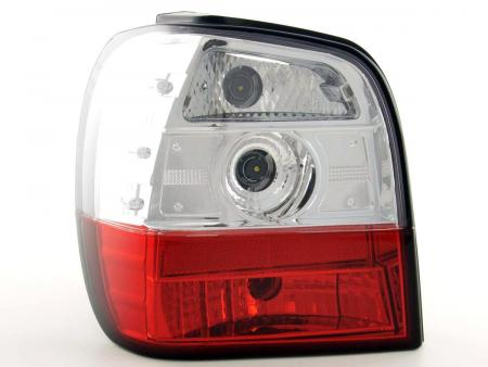 Rückleuchten Heckleuchten Set VW Polo Typ 6N   95-98, rot/klar