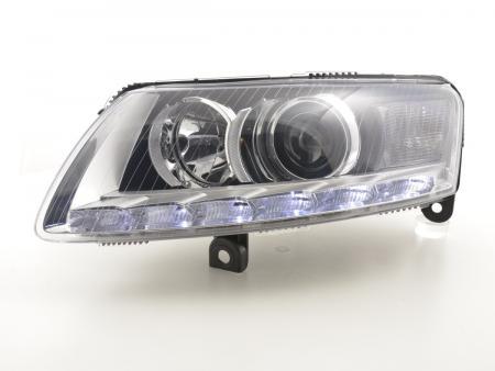 Scheinwerfer Daylight mit LED Standlicht Audi A6 (4F) Bj. 04-08 chrom