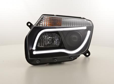 Scheinwerfer Set Daylight LED TFL-Optik Dacia Duster Bj. 10-13 schwarz