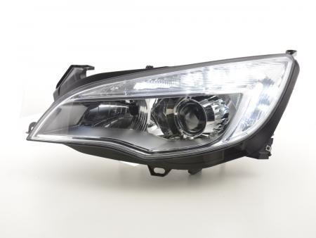 Scheinwerfer Daylight gebraucht mit Tagfahrlicht Opel Astra J Bj. 2009-2012 chrom