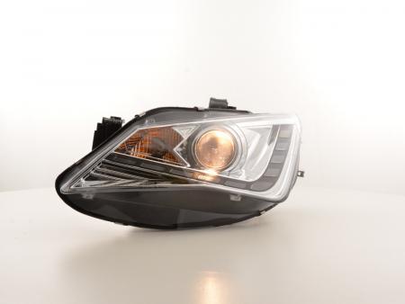Scheinwerfer Set Daylight LED Tagfahrlicht Seat Ibiza 6J Bj. ab 2012 chrom