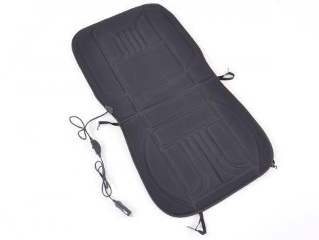 Sitzauflage mit Sitzheizung schwarz